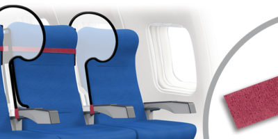 sneeze guards for airplane seats