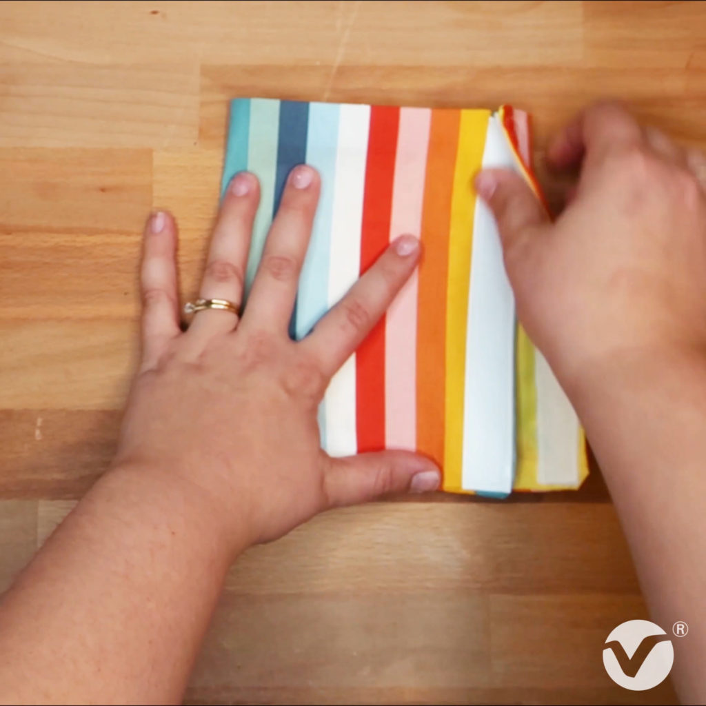 DIY Reusable Snack Bag Step 10