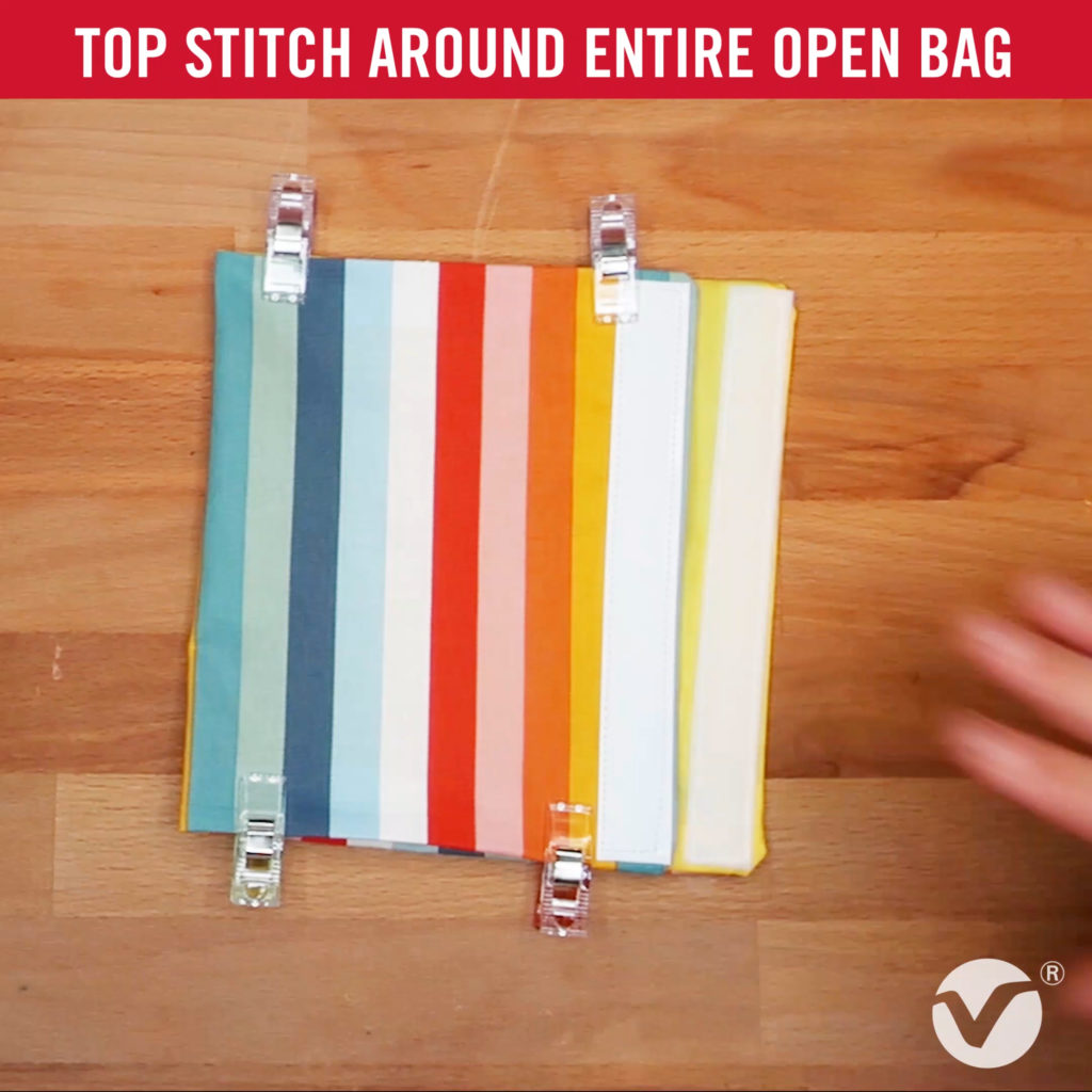 DIY Reusable Snack Bag Step 11