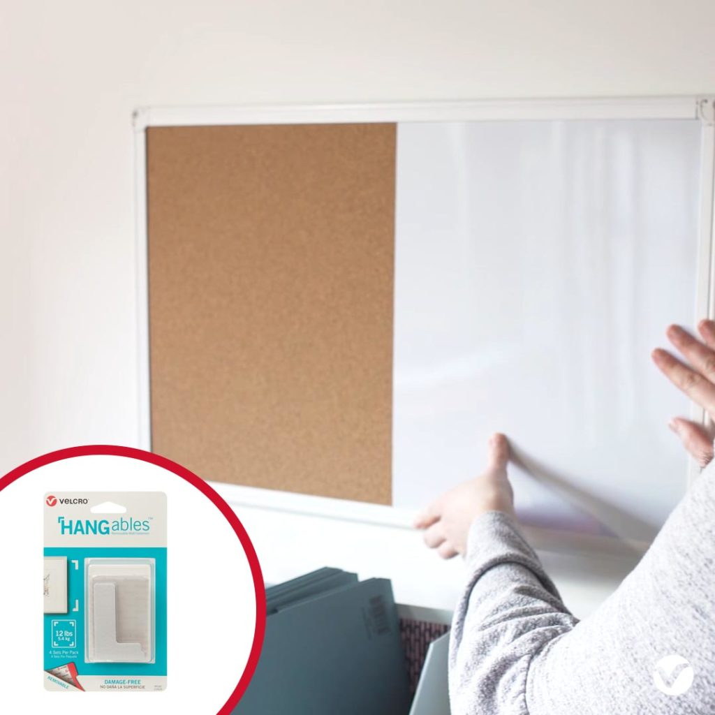 Hang Whiteboard in Home Study