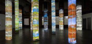 "Installation art ""Three Seasons at Black Forest Farm"" by Karin Giusti"