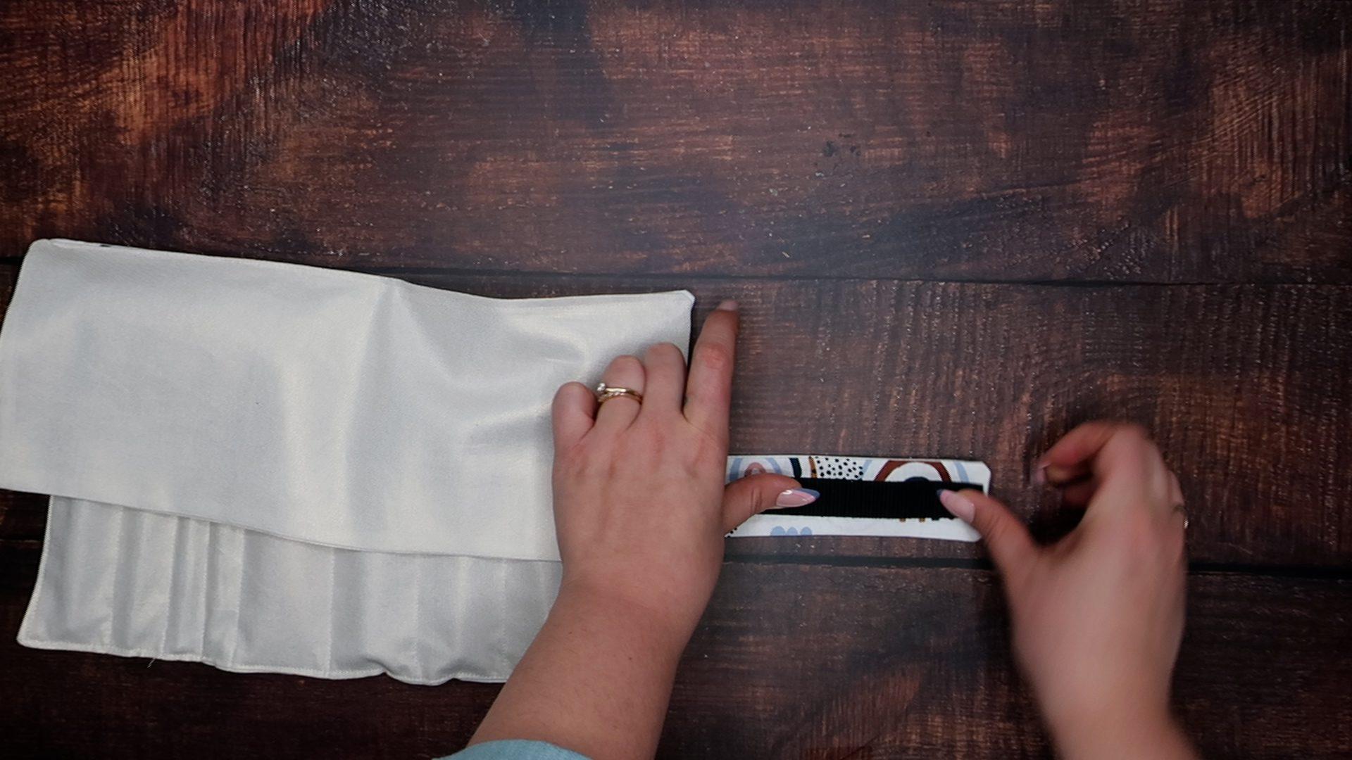 DIY Makeup Roll Step 11