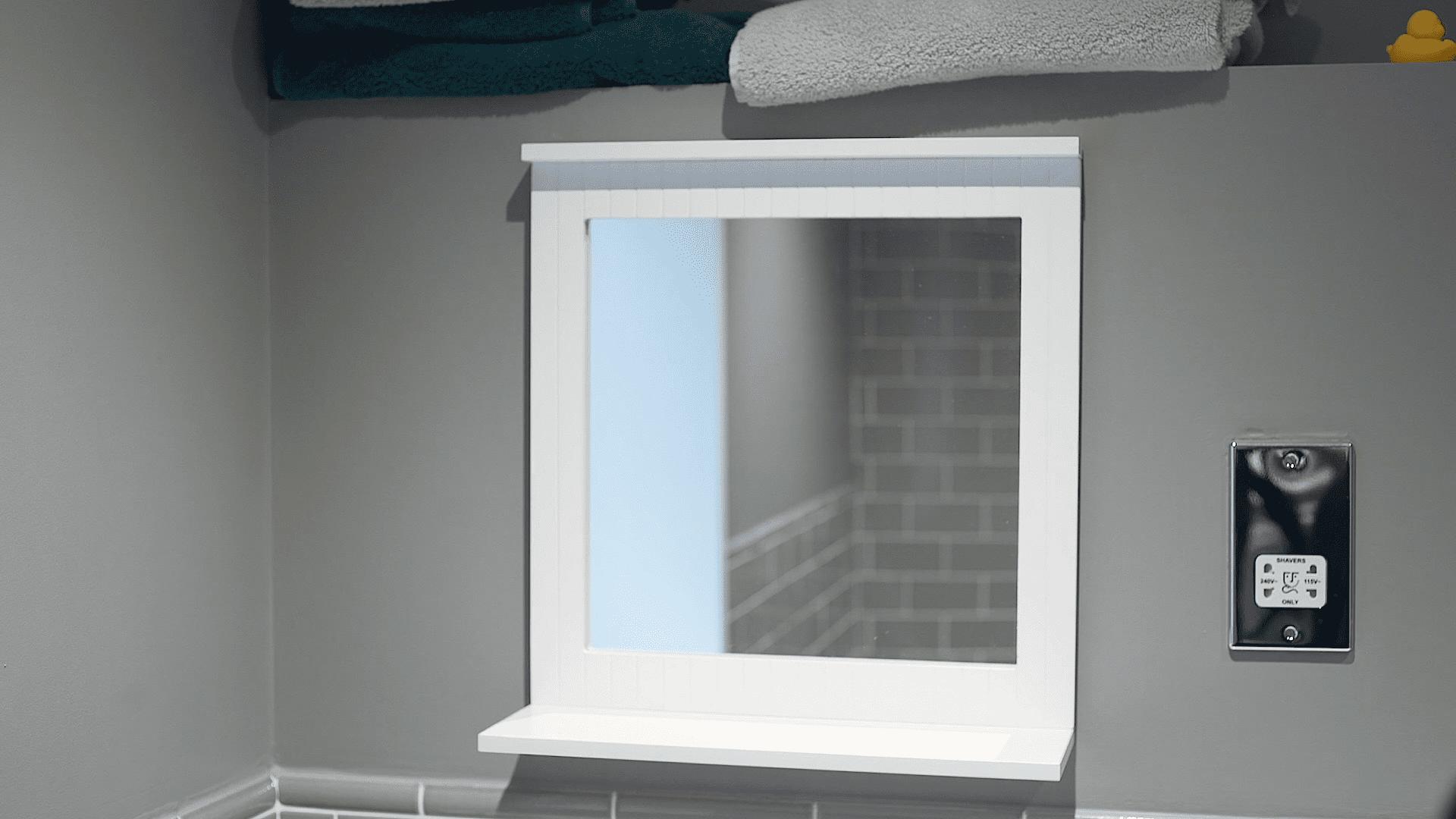Bathroom Organization Ideas - Pick A Mirror with Storage Solutions