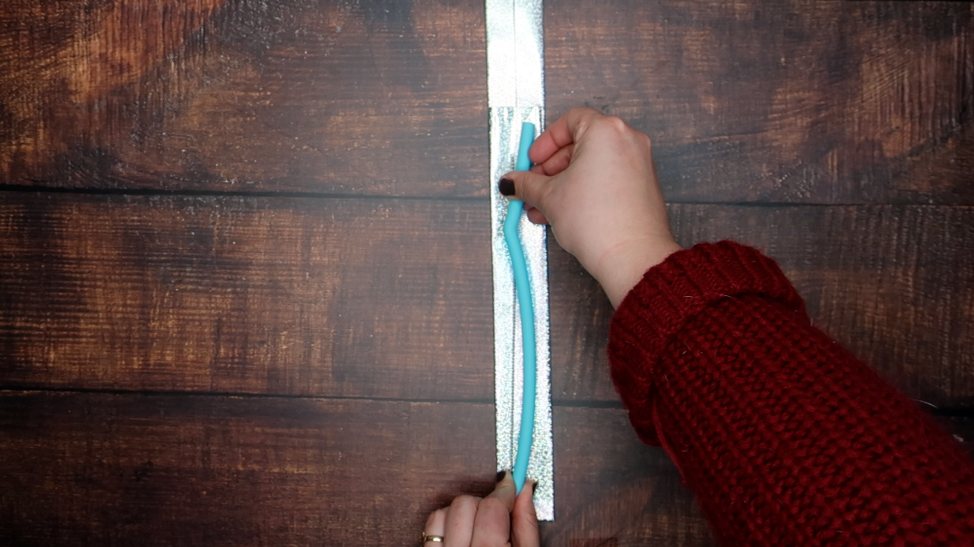 Step 5a: Measure your reusable straw