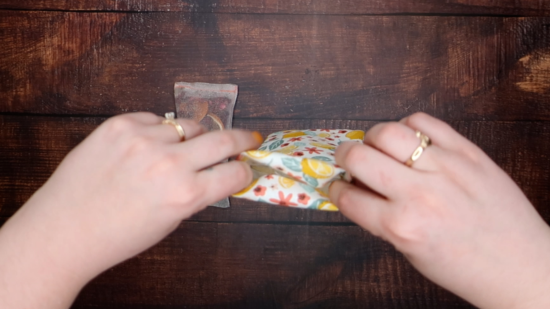 Scented Sachet step 6a