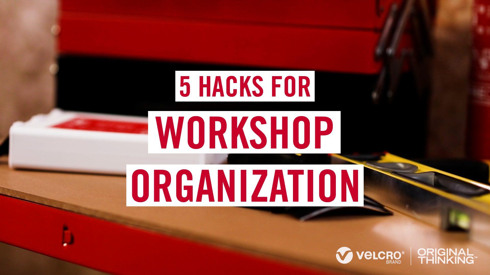 Workshop Organization - 5 hacks