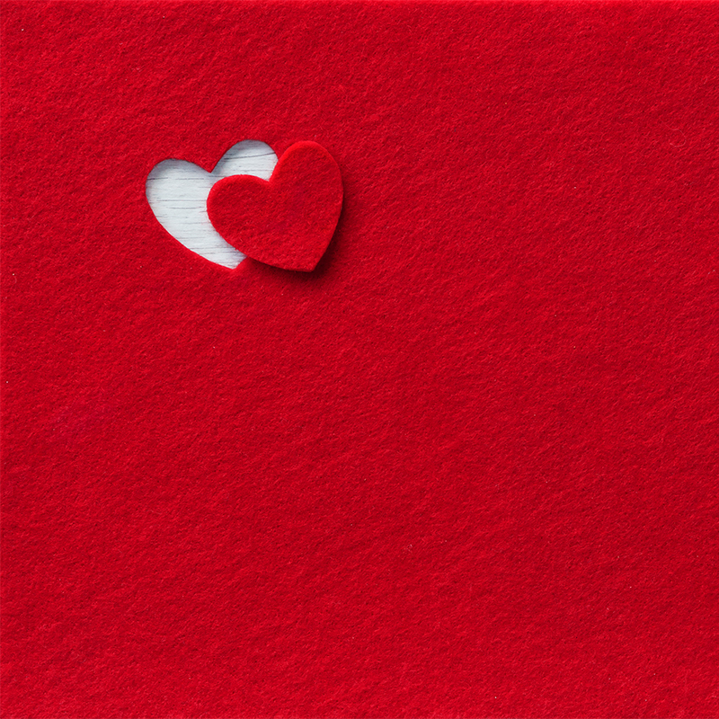 Velcro Craft Heart