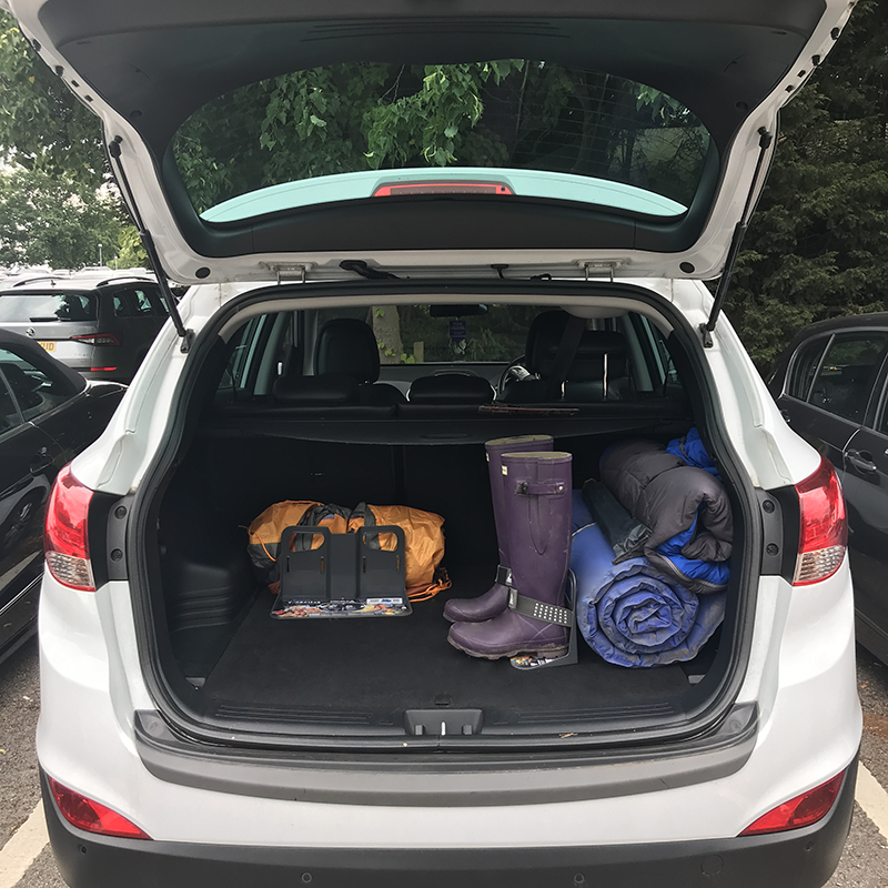 Road Trip Hacks - How to Organise Your Car Boot for a Road Trip