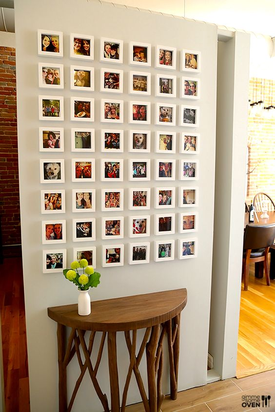 Framed Instagram Gallery Wall