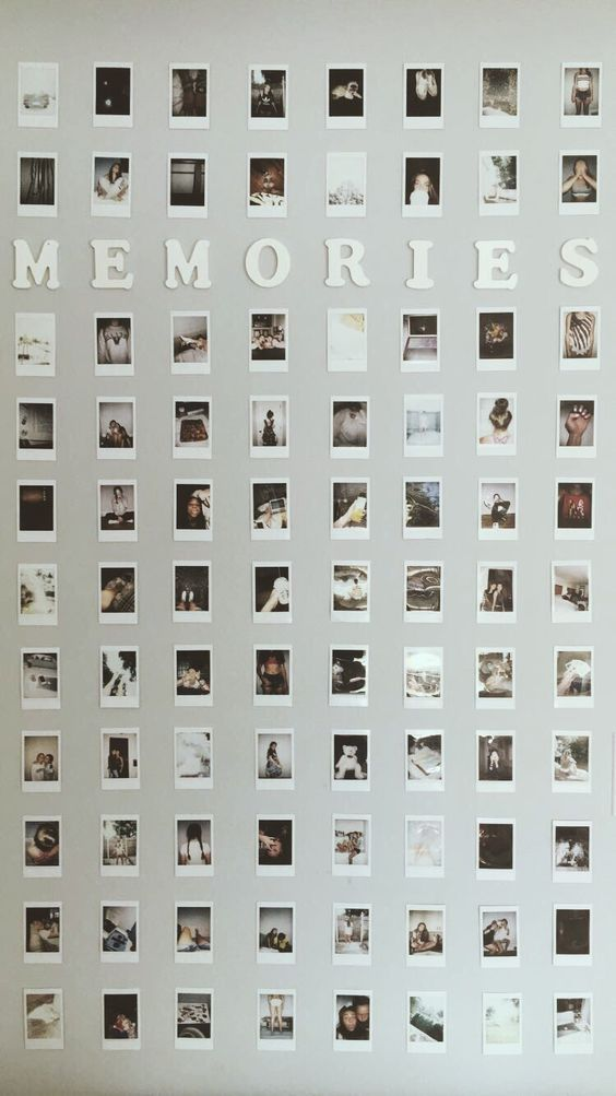 Memories Instagram Gallery Wall