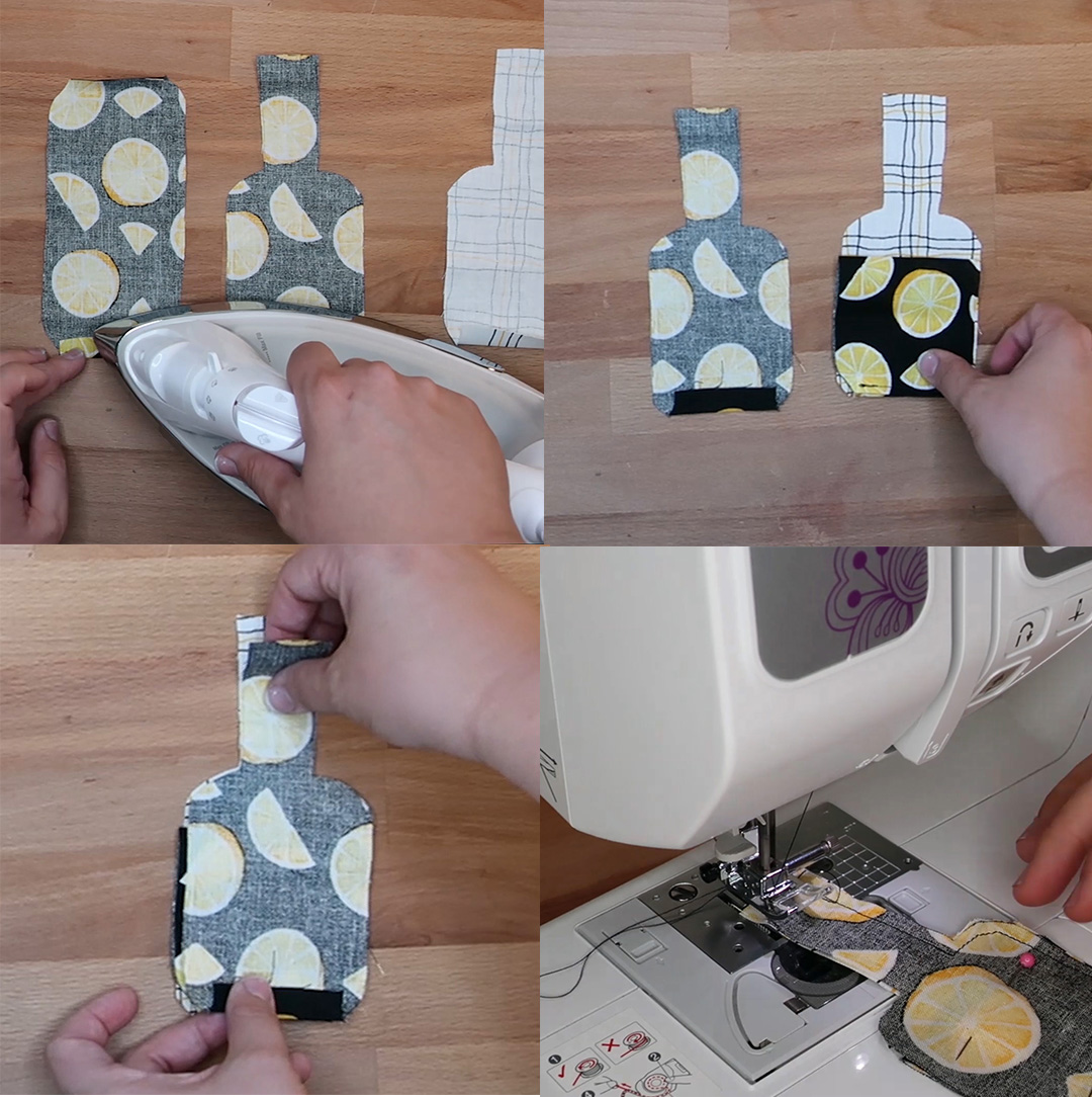 DIY Hand Sanitizer Holder - Sewing