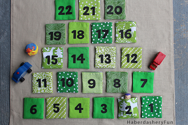 Haberdashery Fun: DIY Advent Calendars