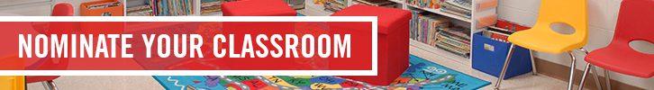 Velcro Companies and Sabrina Soto Classroom Makeover