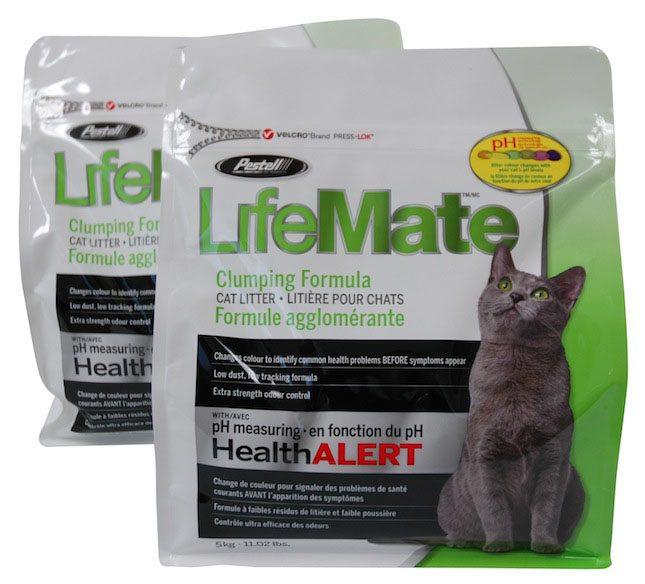 New Pestell Cat Litter Bag Featuring VELCRO® Brand PRESS-LOK™