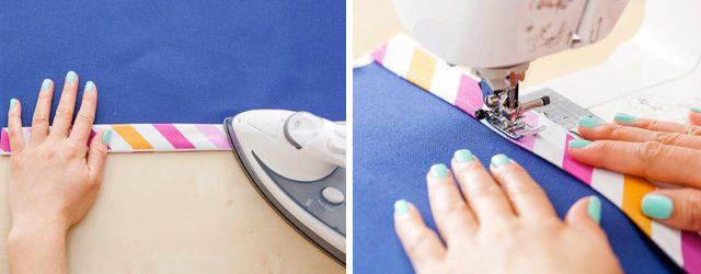 make a custom yoga mat bag