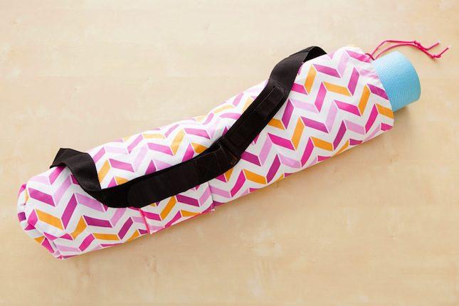 Make A Stylish Diy Yoga Mat Bag Hong Kong China