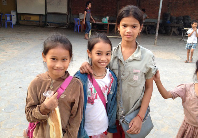 Velcro Industries Cambodian Childrens Fund Sisters