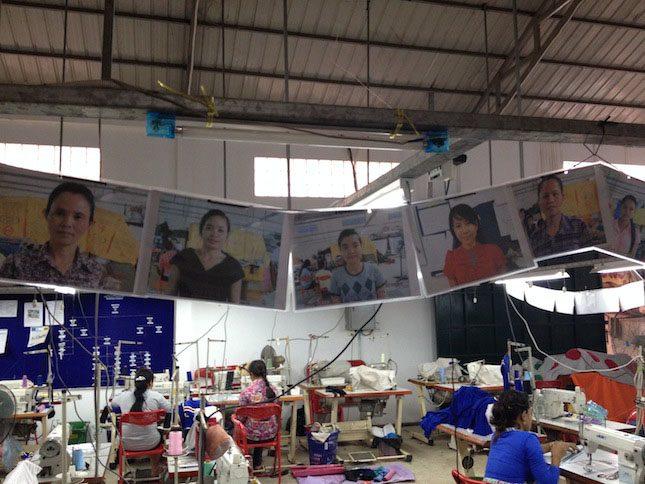 Cambodian Children's Fund Velcro Industries Garment Work