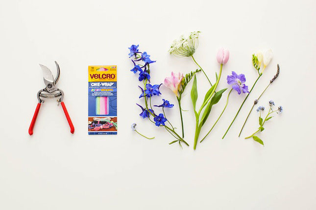 Bouquet_Velcro_Brand_Brit_DIY_Materials
