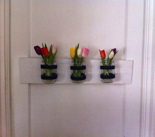 DIY_VELCRO®_Flower_Mason_Jar_Project