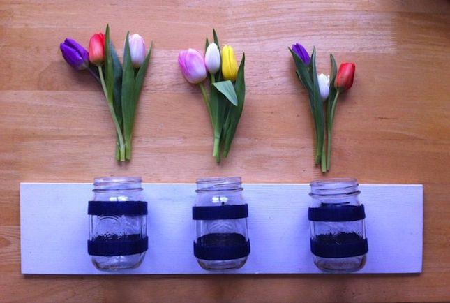 DIY_VELCRO®_Flower_Vase_Mason_Jar_Project