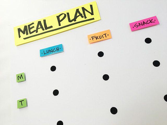 sabrina soto back to school meal plan
