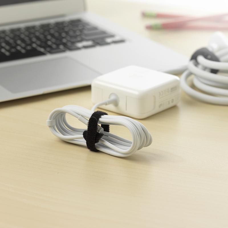 Consumer STRAPS TIES ONE WRAP TIES Black Desktop cord management