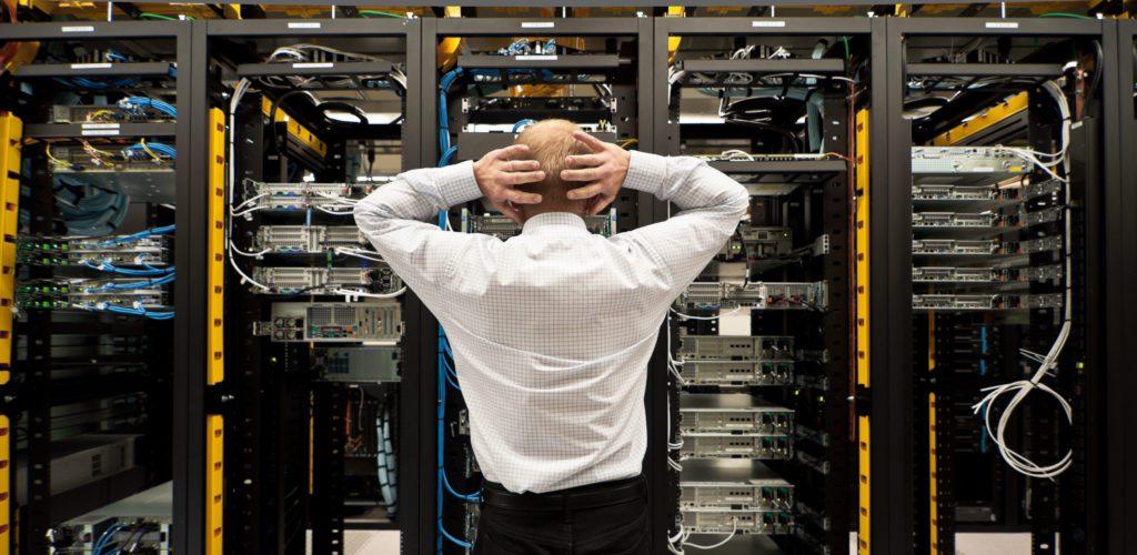 Data center cable management