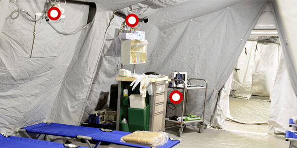 Field Hospital Cable Management