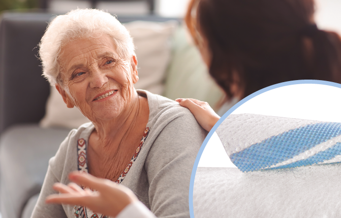 VELCRO® Brand soft fasteners for adult incontinence products