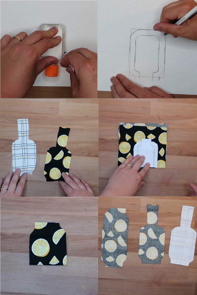 DIY Hand Sanitizer Holder Template