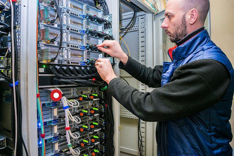 Pro AV Data Center Installation