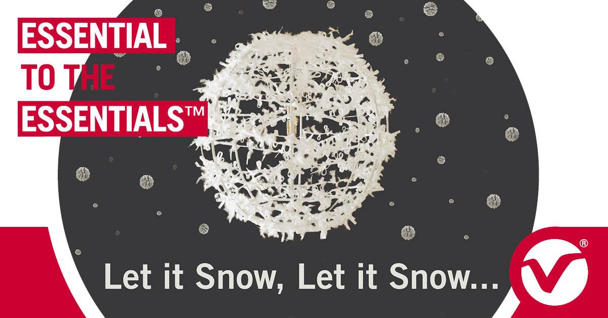 Let it Snow Light Sculpture