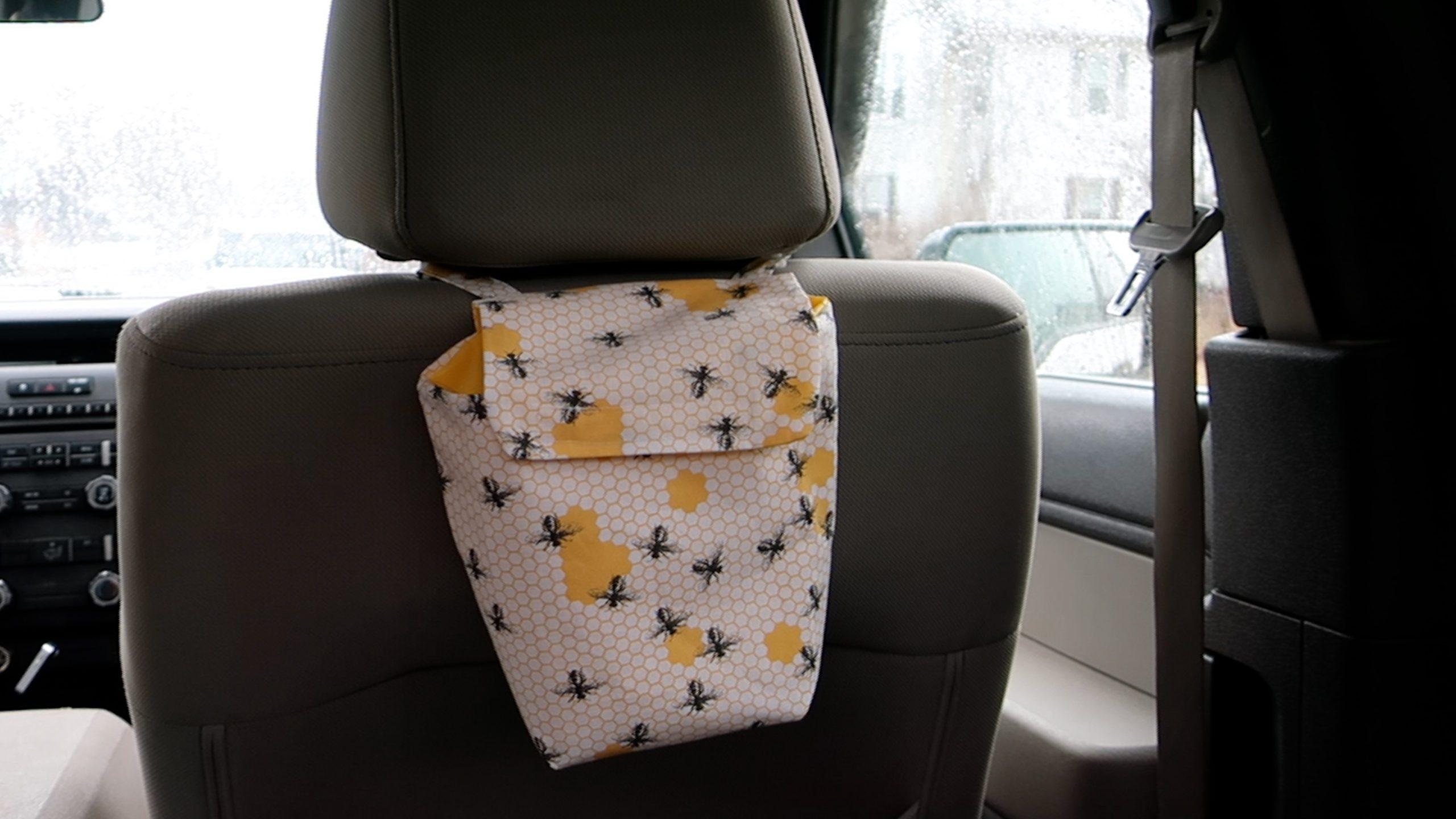 finished: Car Trash Bag