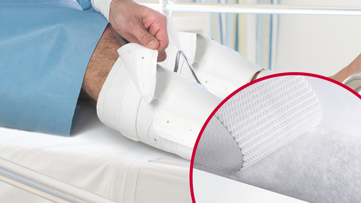 VELCRO® Brand hook and loop fasteners for vascular products