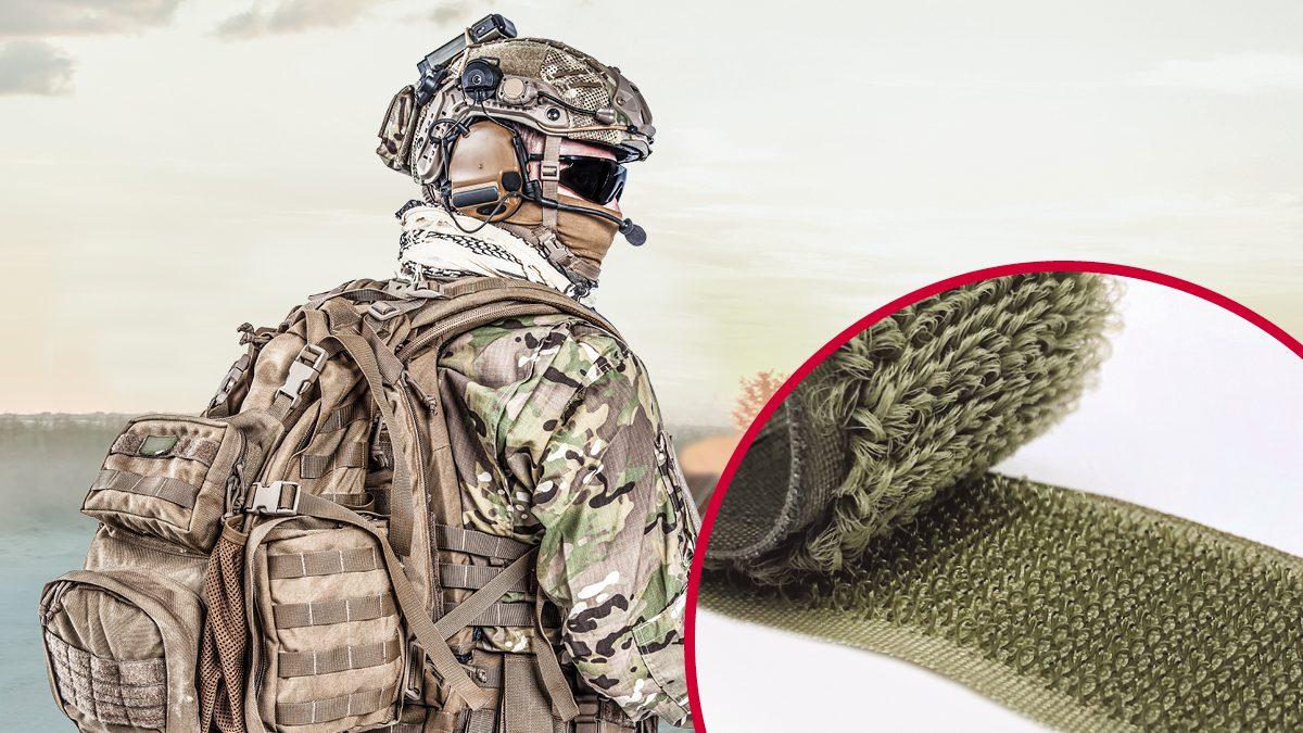 VELCRO® Brand hook and loop military fasteners