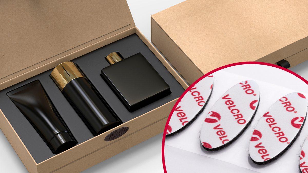 VELCRO® Brand hook and loop fasteners for gift packaging