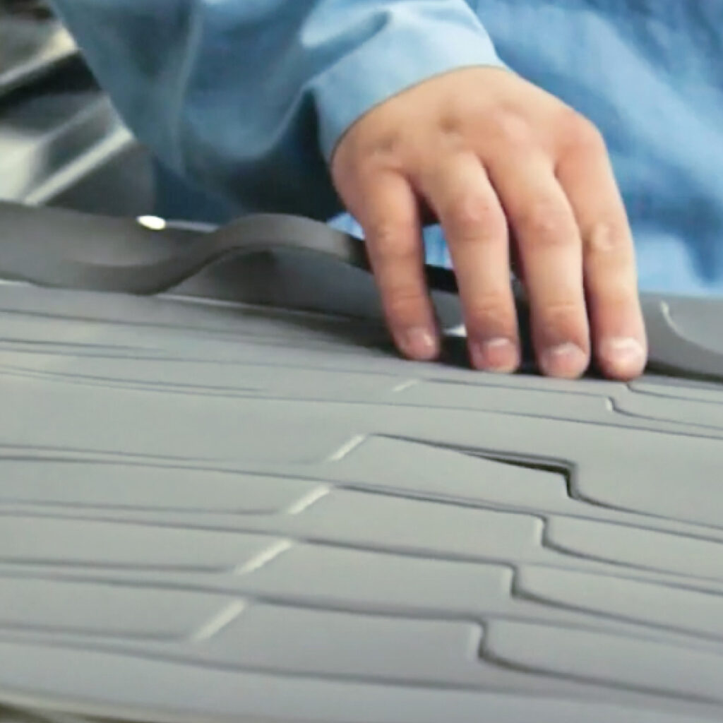 Cutting capabilities for VELCRO® Brand hook and loop products