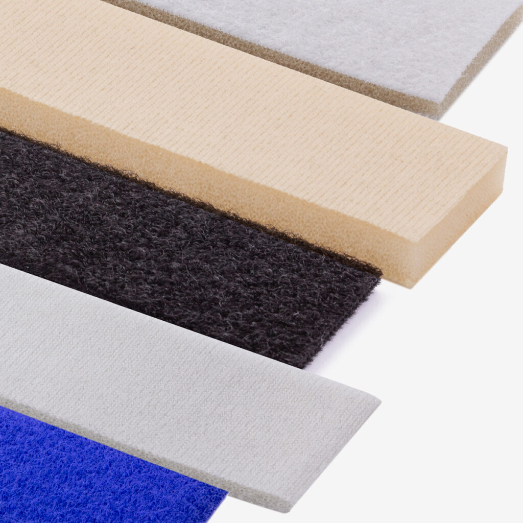 Lamination options for VELCRO® Brand hook and loop products