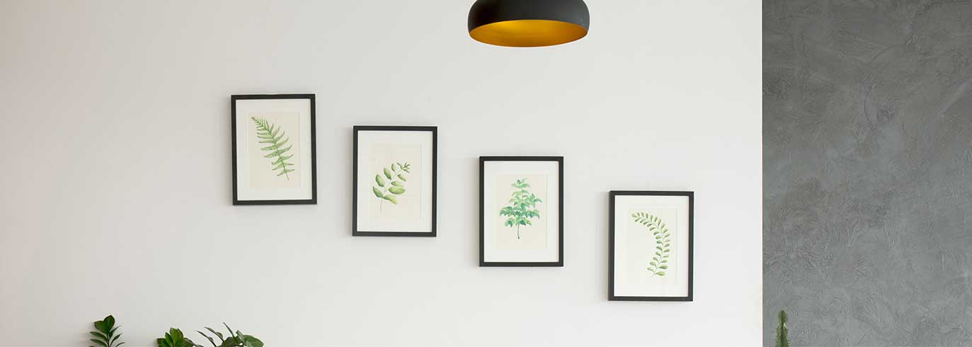 how high to hang pictures